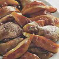 Утка с курицей запеченные в духовке