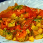 Жареный салат «Универсал»