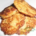 Вкусненькие оладьи из кабачков с фаршем