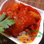 Домашнее лечо из сладкого перца на зиму с томатным соком или помидорами