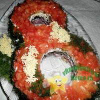 салат 8 марта рецепт