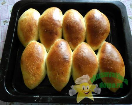 сдобные пирожки в духовке