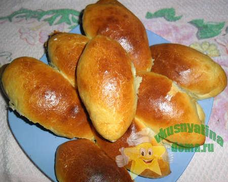 сдобные пирожки с морковно-яблочной начинкой