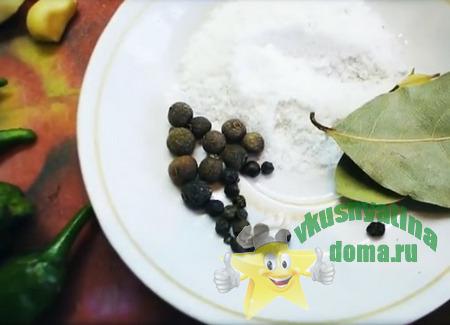 Маринад для закуски из зеленых помидоров
